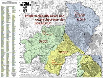 Bezirke Bauaufsicht