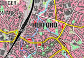 Anreißer Topografische karten
