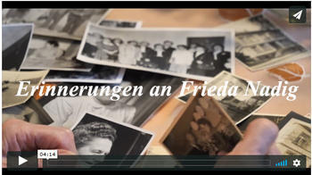 Erinnerung an Frieda Nadig