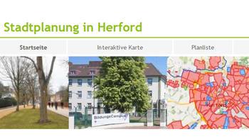 Buttonbild Stadtplanung in Herford