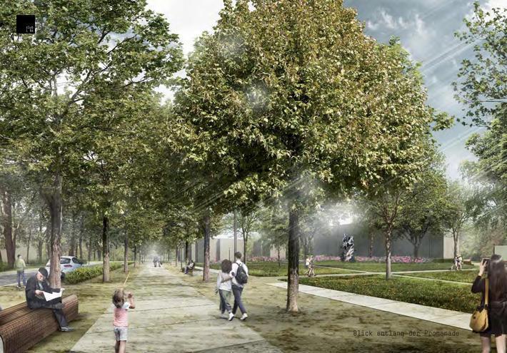 Entwurfsplanung Wilhelmsplatz Verbindungsachse Marta Innenstadt