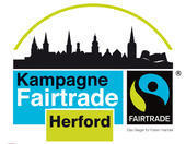 Fairtrade flyer ohne Schnittmarkten