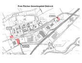 Freie Flächen im Gewerbegebiet Diebrock